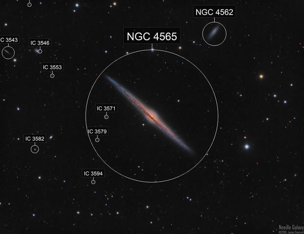 NGC4565 - The Needle Galaxy