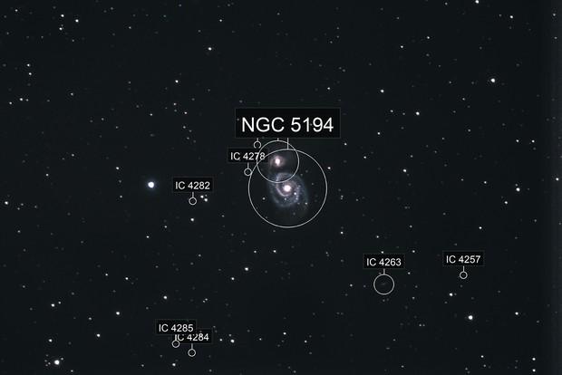 Whirlpool-Galaxie (M51)