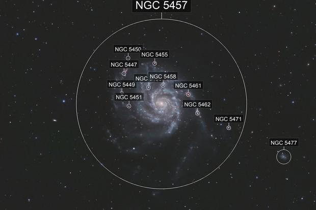 M 101 - The Pinwheel Galaxy