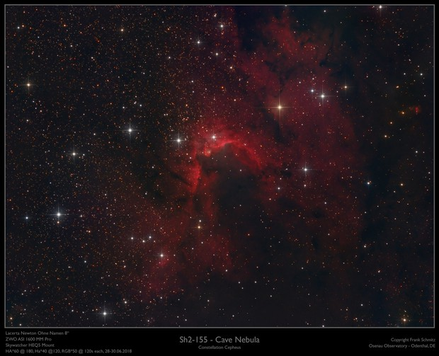 Sh2-155 - The Cave Nebula