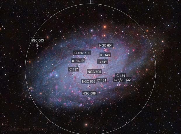 M33 LRGB+Ha