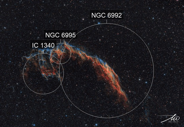 NGC6992 The Eastern Veil Nebula