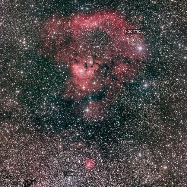Sharpless 171 / NGC 7822