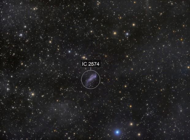 IC2574 - Coddington Nebula - IFN
