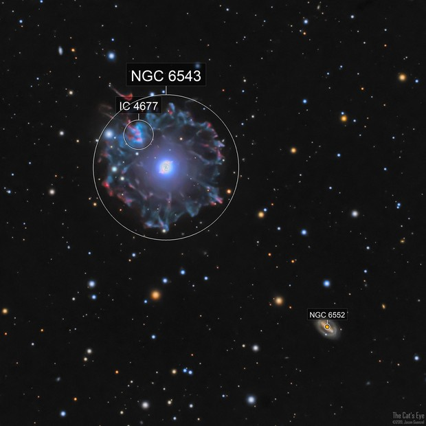 NGC6543 - The Cat's Eye