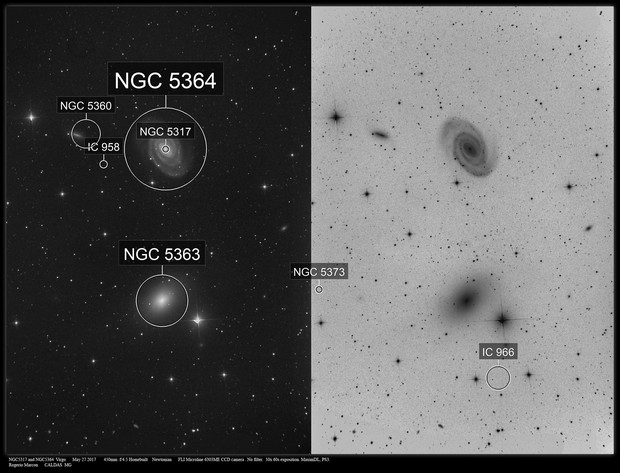 NGC5316 and NGC5364  Virgo