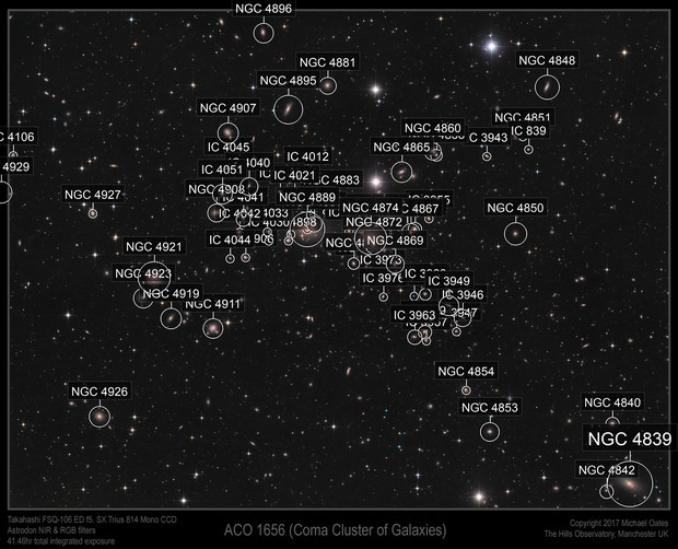 ACO 1656 in the Coma Cluster