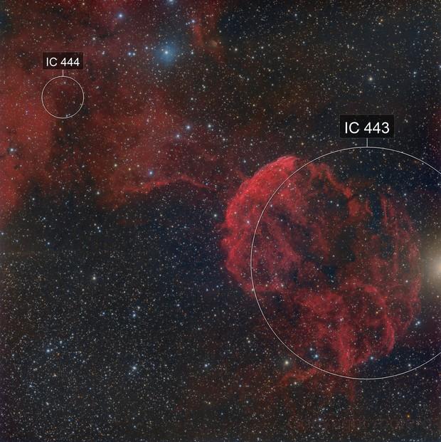 IC443 - Jellyfish Nebula - HaRGB