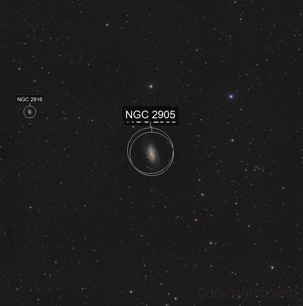NGC2903 - Wide Field - RGB