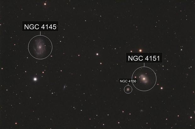 NGC4151 & NGC4145