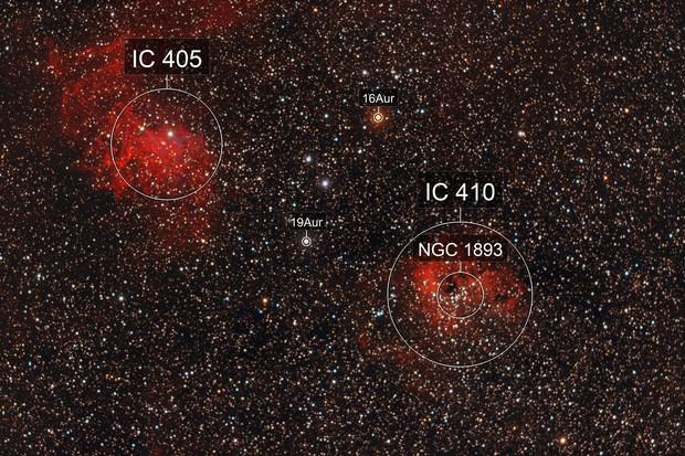 IC 405 & IC 410
