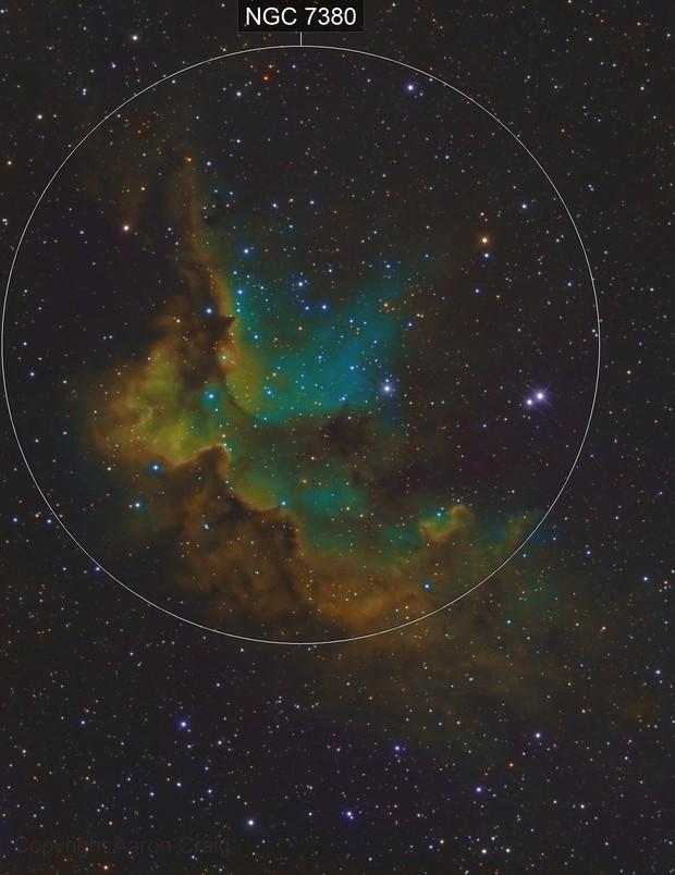 NGC 7380 - Wizard of SHO