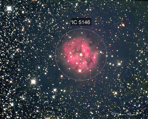 IC 51`46 Cocoon Nebula