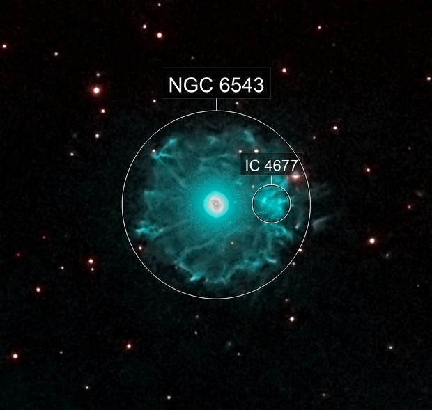 NGC 6543 Cats Eye High Dynamic Range