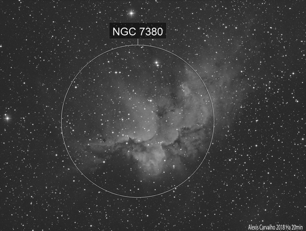NGC 7380 first test