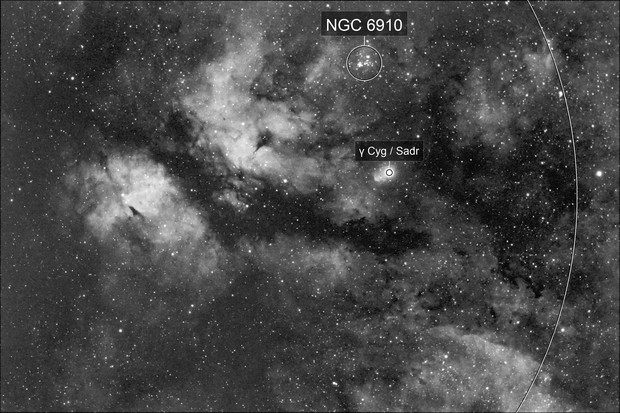 IC 1318 @ DSLR H-Alpha