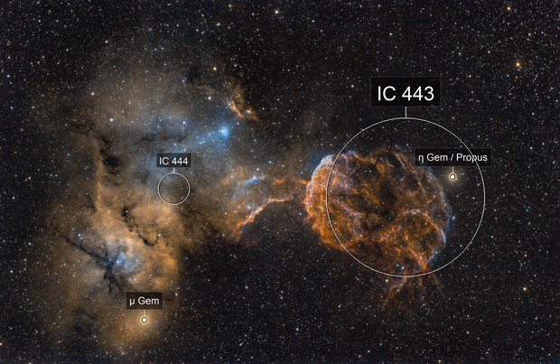 SN remnant ic443