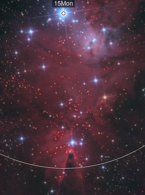 The Cone Nebula HALRGB