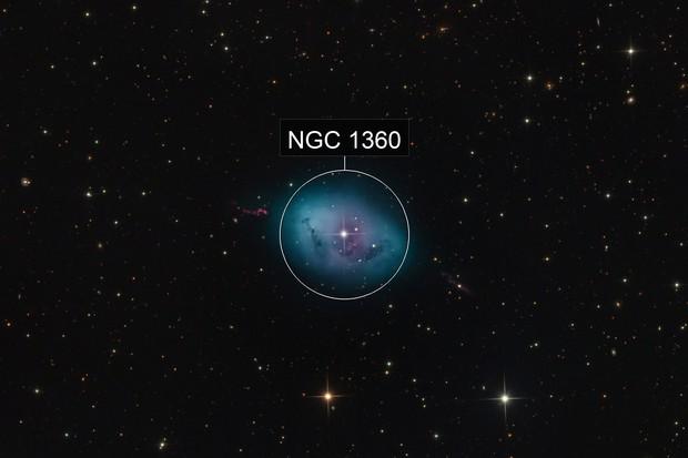 NGC 1360 – The Robins Egg Nebula