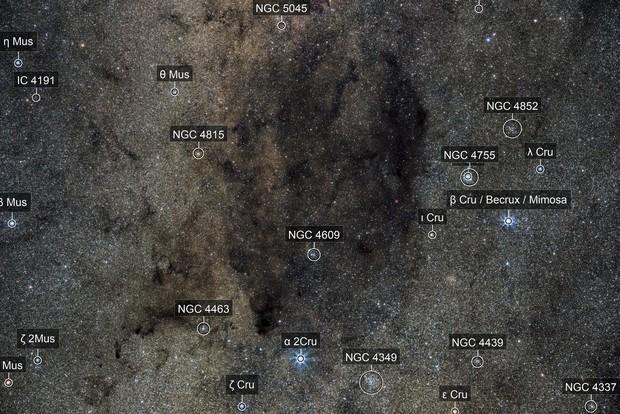 Coal Sack nebula