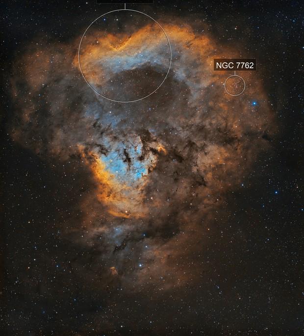 NGC 7822 - SHO
