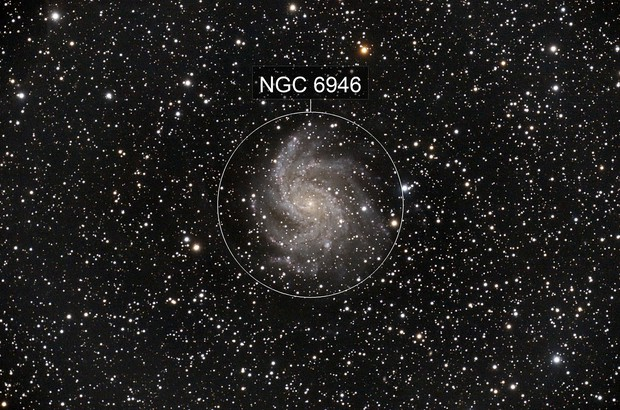 NGC 6946 - Fireworks Galaxy