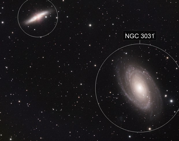 M81 and M82 with SVX130T