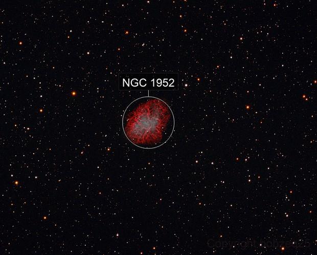 Crab Nebula - HaRGB