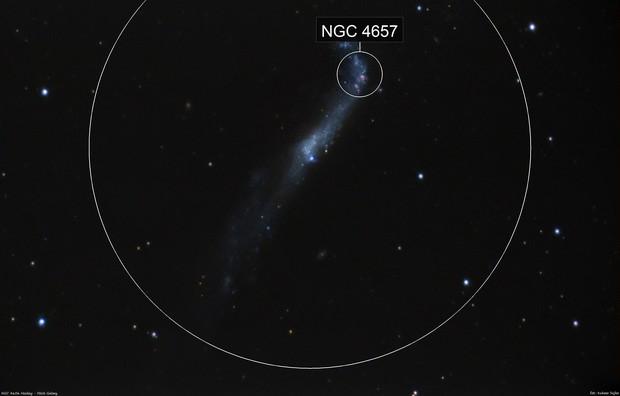 NGC 4656 - Hockey Stick Galaxy