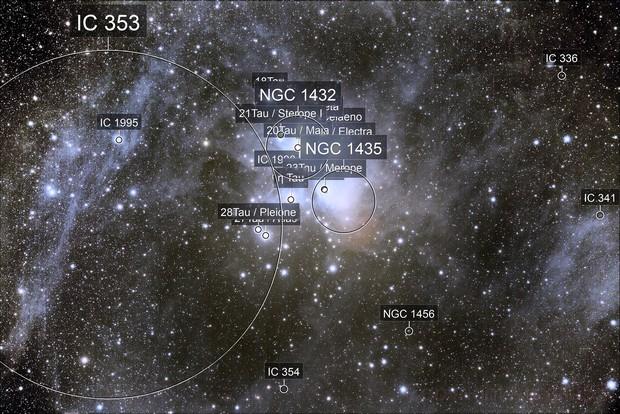 Pleiadi, M 45