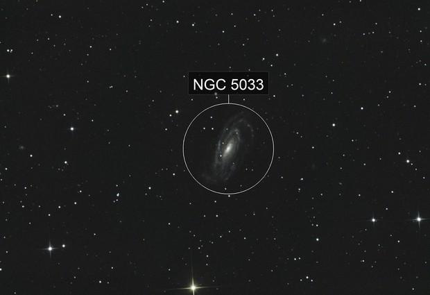NGC 5033 Waterbug Galaxy