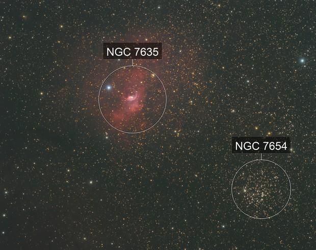 NGC 7635 & M52