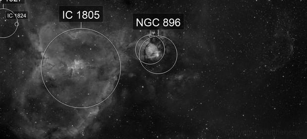 Supernova Remnant Heart Nebula 132.7+1.3