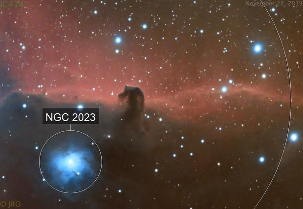 Horsehead nebula drizzle/crop