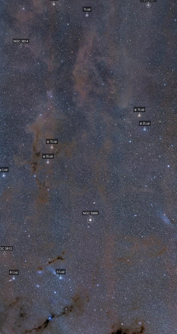 Lupis Constellation