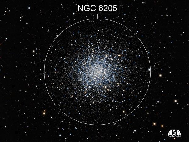 M 13 - Ercules Globular Cluster