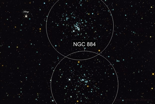 Double Star Cluster NGC 869 and NGC 884