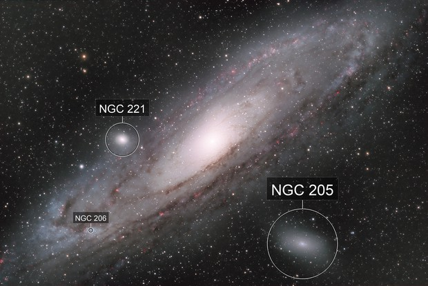 Messier 31 - Great Andromeda Galaxy LRGB Ha QHY600