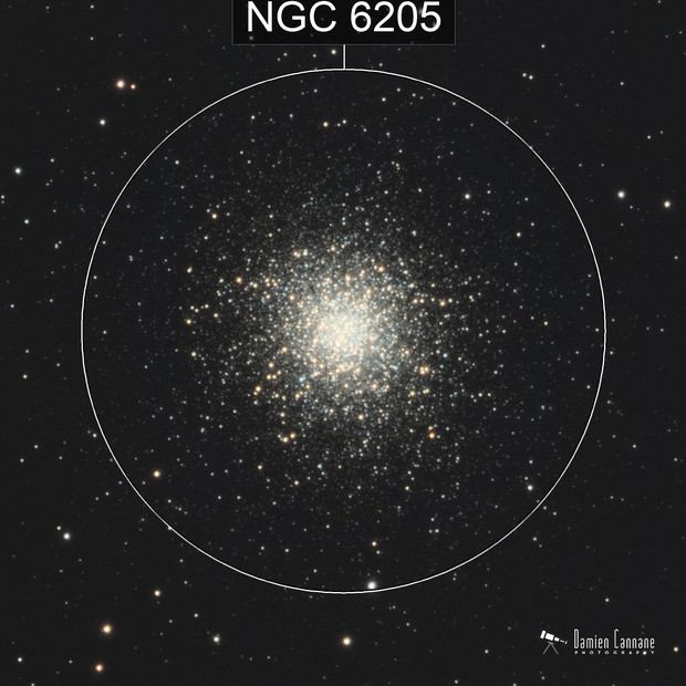 First LRGB - The Great Cluster in Hercules