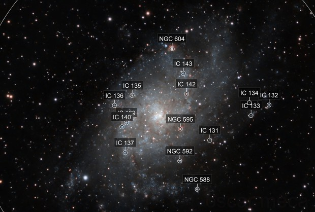 M33 close up