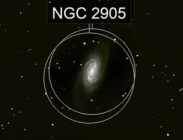 NGC 2903 / NGC 2905