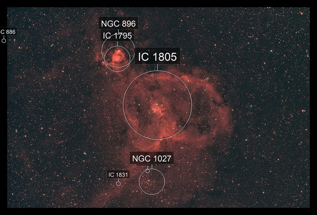 IC1805 - Heart Nebula