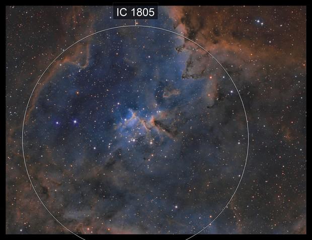 IC1805 - Heart of the Heart Nebula