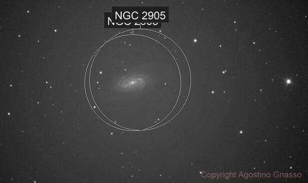 NGC 2903 single frame