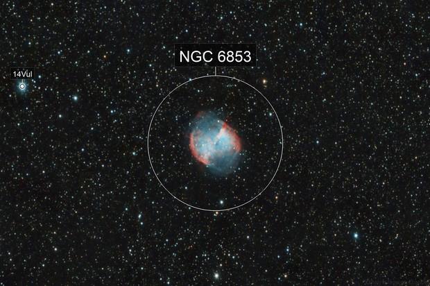 Dumbbell Nebula - 2016/09/10