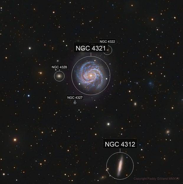 M100 - NGC 4312