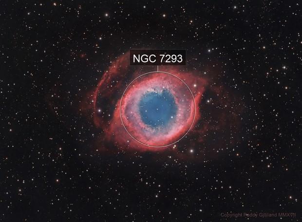 NGC 7293 - Helix Nebula - HaLRGB