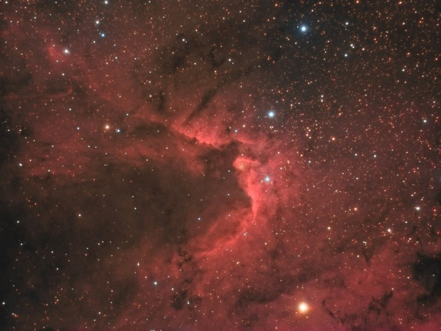 Sh2-155 : Cave Nebula (30h30min)