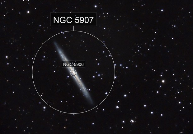NGC 5907 in Draco