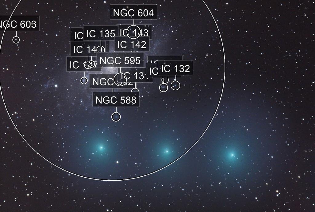 Cometa 8P Tuttle incontra M 33